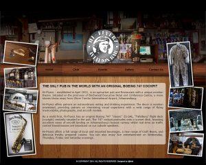 website design for hiflyerz bar