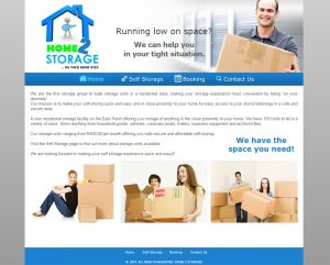 website design for home2storage
