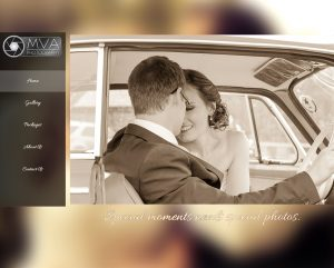 website design for blackmirror photography