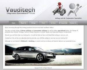 website design for vauditech