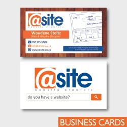 Atsite Design Business Cards