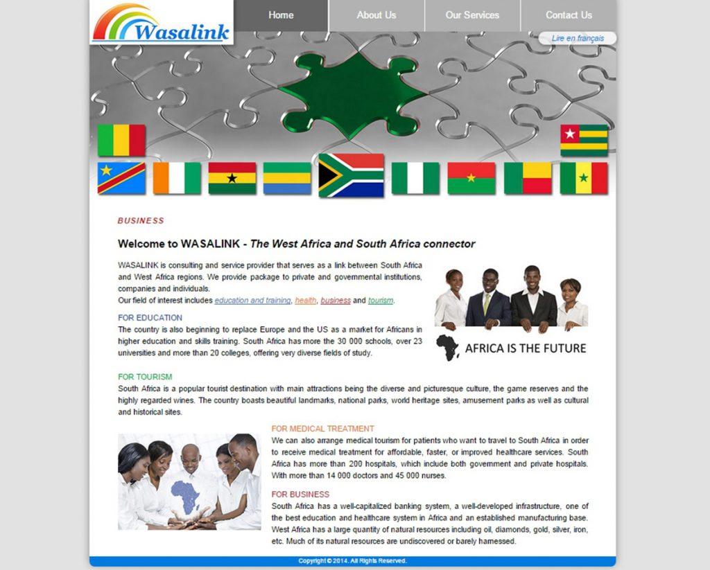 website design for wasalink