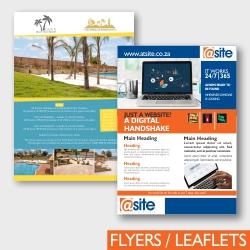 Atsite Design Flyers Leaflets
